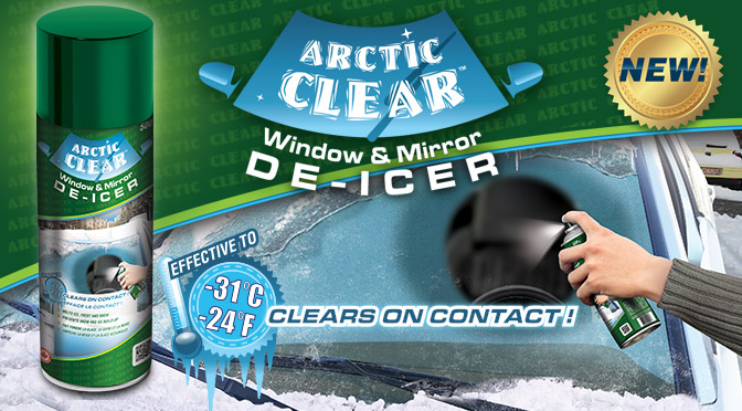 Arctic Clear Window and Mirror De-ice